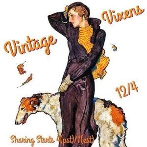 FRIDAY 12/4 Vintage Vixens Sign Up Sheet